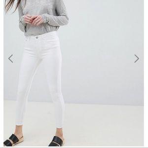 ASOS White Skinny Jeans